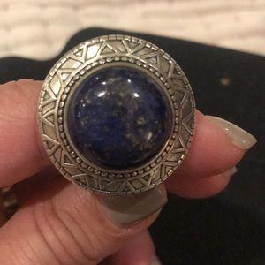Silpada Lapis Ring Size 8